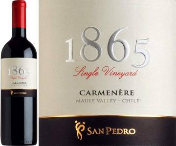 1865 Single Vineyard - Carmenere, 2007