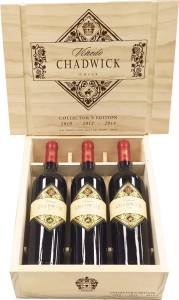 Vinedo Chadwick Collector's Edition 2010 2012 2014, Premium-Rotwein aus Chile