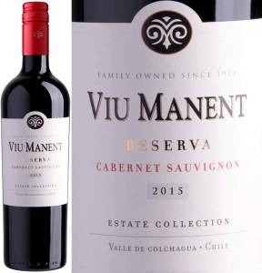 Viu Manent Reserva - Cabernet Sauvignon, Estate Collection, 2016