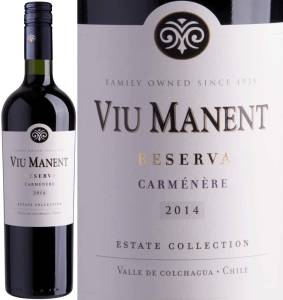 Viu Manent Reserva - Carmenere, Estate Collection, 2016
