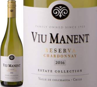 Viu Manent Reserva - Chardonnay, Estate Collection, 2017