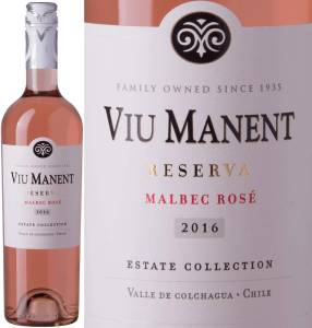 Viu Manent Reserva - Malbec Rose, Estate Coll., 2017