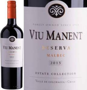 Viu Manent Reserva - Malbec, Estate Collection, 2015