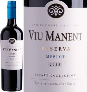 Viu Manent Reserva - Merlot, Estate Collection, 2016
