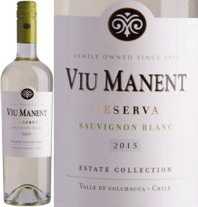 Viu Manent Reserva - Sauvignon Blanc, Estate Collection, 2016