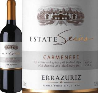 Errazuriz Estate Series - Carmenere, 2017
