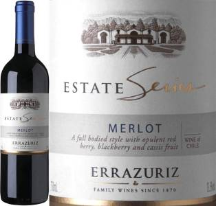 Errazuriz Estate Series - Merlot, 2016