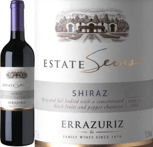 Errazuriz Estate Series - Shiraz, 2015