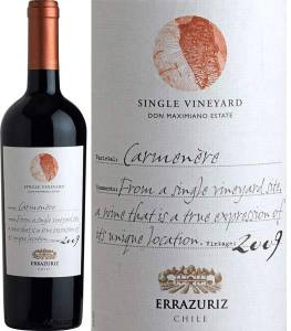 Errazuriz Single Vineyard - Carmenere, 2012