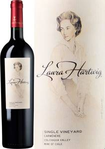 Laura Hartwig Single Vineyard - Carmenere, 2016