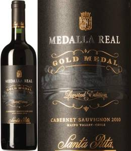 Medalla Real Gold Medal Limited Edition Cabernet Sauvignon 2010, trockener Rotwein aus Chile