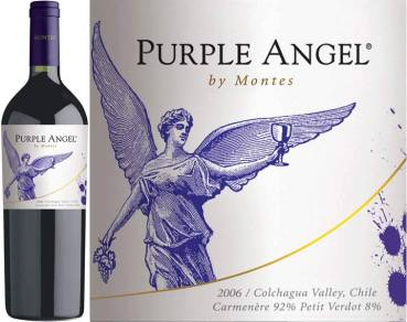 Purple Angel by Montes - Carmenere, 2016