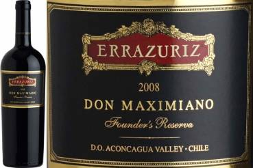 Errázuriz Don Maximiano Founder's Reserve 2011, Rotwein aus Chile