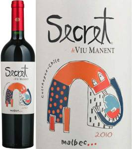Secret de Viu Manent - Malbec, 2015