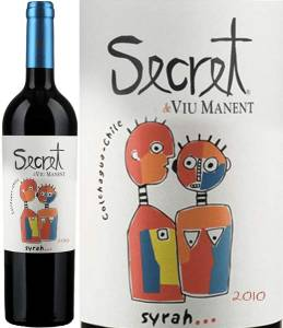 Secret de Viu Manent - Syrah, 2014