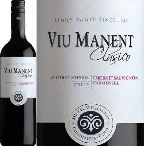 Viu Manent Reserva - Cabernet Sauvignon/Carmenere, Estate Collection, 2015