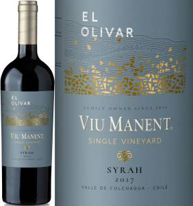 Viu Manent Single Vineyard, El Olivar - Syrah, 2017