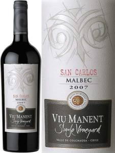 Viu Manent Single Vineyard, San Carlos - Malbec, 2013