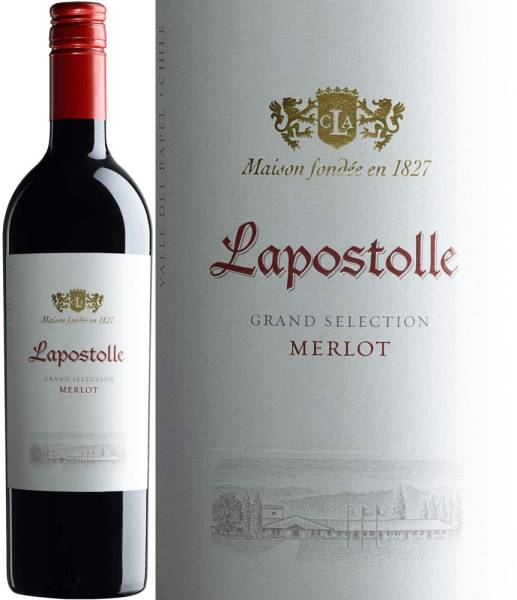 Lapostolle Grand Selection Merlot 2015, trockener Rotwein aus Chile