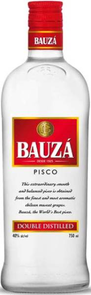 Pisco Bauza Double Distilled 40% aus Chile