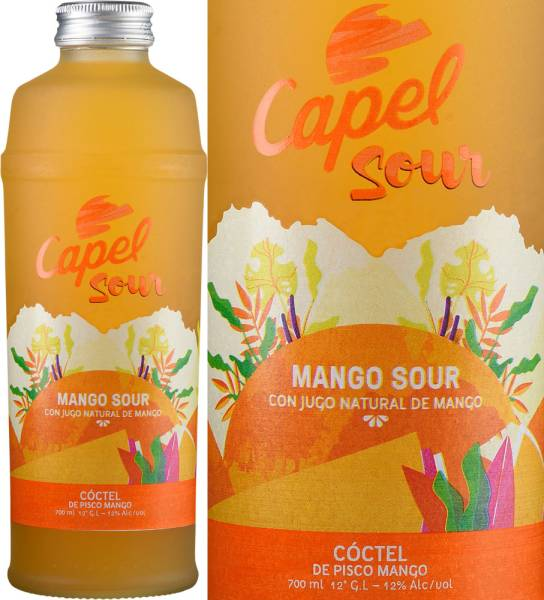 Capel Pisco Sour Mango 12% aus Chile