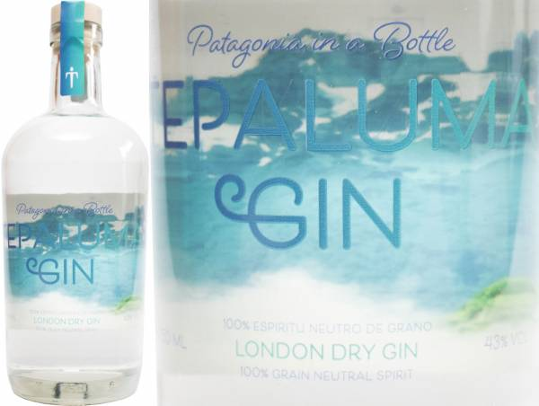 Tepaluma Dry Gin 43% aus Patagonien Chile